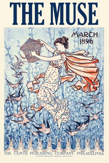 The Muse Home Jurnal, March 1896--Art Print