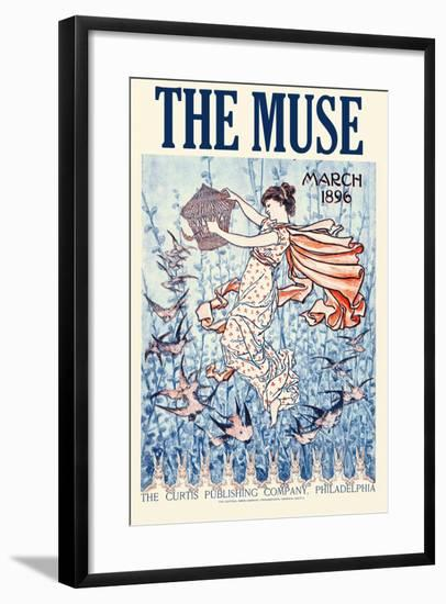 The Muse Home Jurnal, March 1896--Framed Art Print
