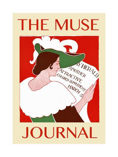 The Muse Journal--Art Print
