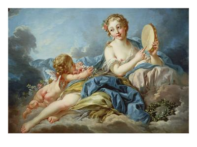 The Muse Terpsichore-Francois Boucher-Giclee Print