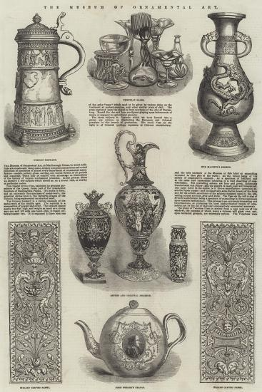 The Museum of Ornamental Art--Giclee Print
