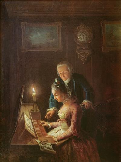 The Music Lesson, 1769-Emanuel Handmann-Giclee Print