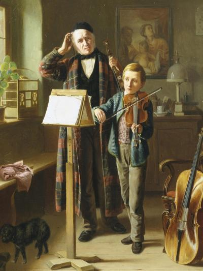 The Music Lesson-Just Jean Christian Halm-Giclee Print