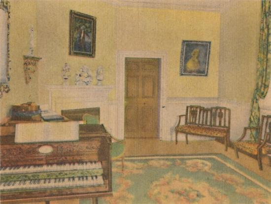 'The Music Room', 1946-Unknown-Giclee Print