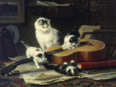 The Musical Cats-Henriette Ronner-Knip-Giclee Print