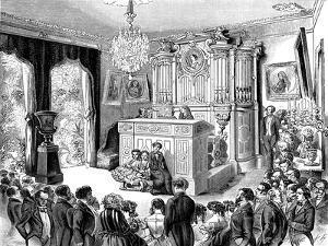 The Musical Soirée at Pauline Viardot-Garcia