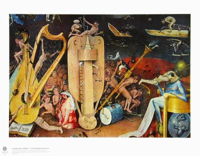 The Musician S Hell-Hieronymus Bosch-Collectable Print