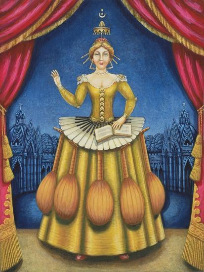 The Musician's Wife, 2002-Frances Broomfield-Giclee Print