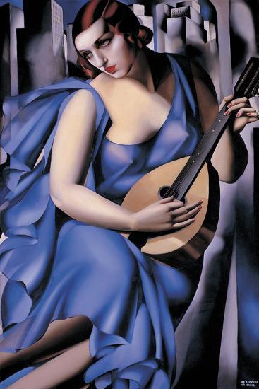 The Musician-Tamara de Lempicka-Giclee Print