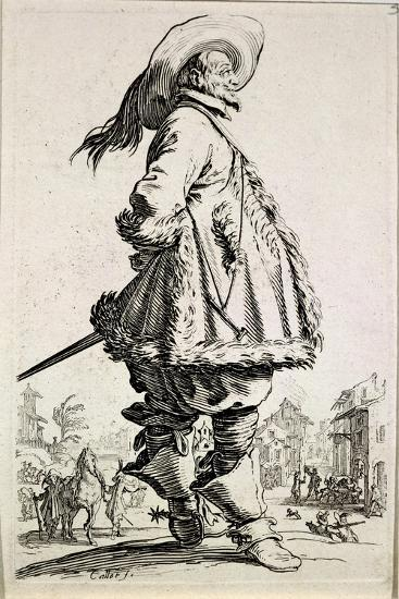 The Musketeer, from Series La Noblesse--Giclee Print
