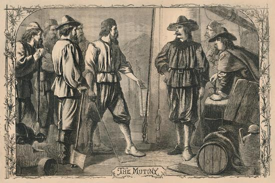 'The Mutiny', c1870-Unknown-Giclee Print