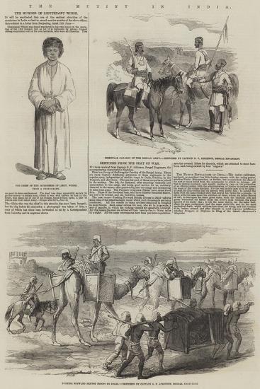 The Mutiny in India-Frederick John Skill-Giclee Print