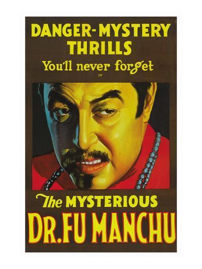 The Mysterious Dr. Fu Manchu--Art Print