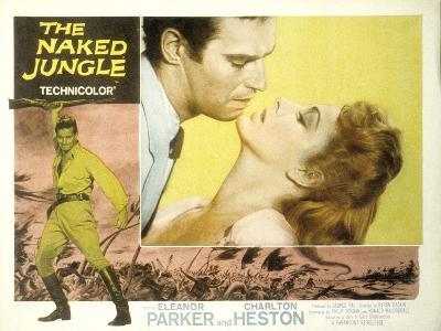 The Naked Jungle, Charlton Heston, Eleanor Parker, 1954--Photo