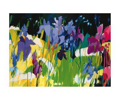 The Naos Iris-Madeleine Lemaire-Art Print