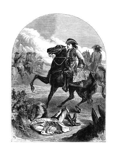The Narrow Escape of Marlborough, 18th Century--Giclee Print