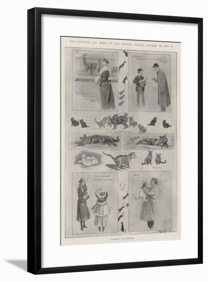 The National Cat Show at the Crystal Palace, 29 and 30 October-Ralph Cleaver-Framed Giclee Print