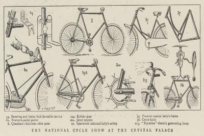 The National Cycle Show at the Crystal Palace--Giclee Print