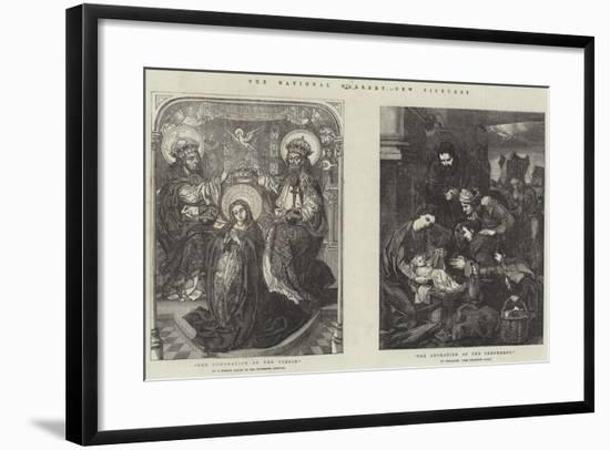 The National Gallery, New Pictures-Diego Velazquez-Framed Giclee Print