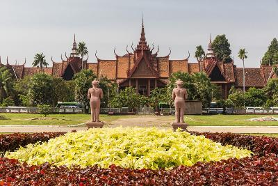 The National Museum of Cambodia in the Capital City of Phnom Penh, Cambodia, Indochina-Michael Nolan-Photographic Print