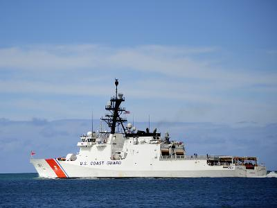 The National Security Cutter Uscgc Waesche--Photographic Print