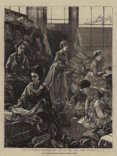 The National Society for Aid to the Sick and Wounded-Henry Woods-Giclee Print