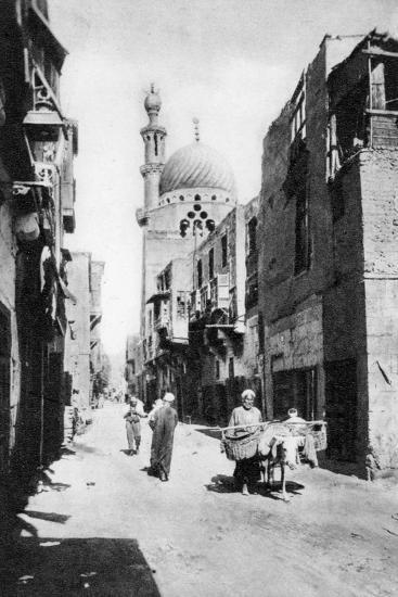 The Native Quarter, Cairo, Egypt, C1920s--Giclee Print