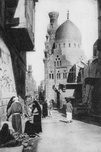 The Native Quarter, Cairo, Egypt, C1920s