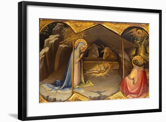 The Nativity, 1406-10- Lorenzo Monaco-Framed Giclee Print