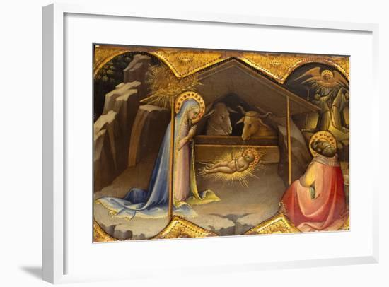 The Nativity, 1406-10- Lorenzo Monaco-Framed Giclee Print