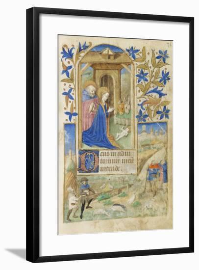 The Nativity, 1464--Framed Giclee Print