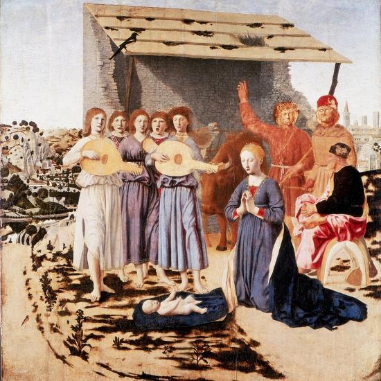 The Nativity, 1470-1475-Piero della Francesca-Giclee Print