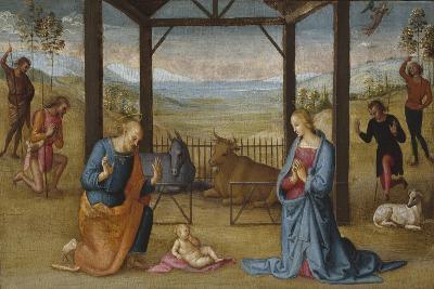 The Nativity, 1500-05-Pietro Perugino-Giclee Print