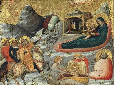 The Nativity and Other Episodes from the Childhood of Christ-Pietro Da Rimini-Giclee Print