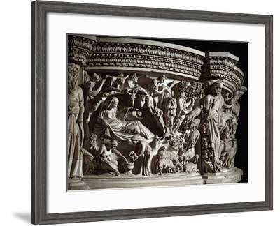The Nativity, by Pisano--Framed Photographic Print