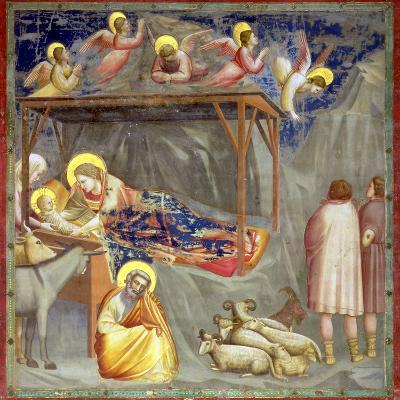The Nativity, C.1305-Giotto di Bondone-Giclee Print