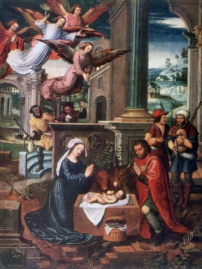 The Nativity, C1500-1550-Ambrosius Benson-Giclee Print