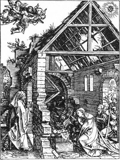 The Nativity, C1503-Albrecht Durer-Giclee Print