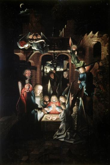 The Nativity of Christ (The Holy Night), Early 16th Century-Jan Joest-Giclee Print