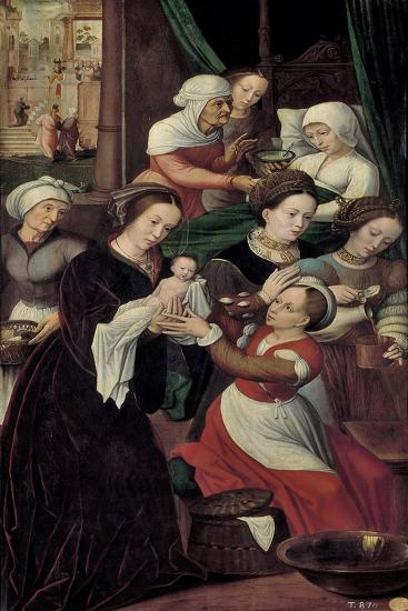 The Nativity of the Virgin Mary-Ambrosius Benson-Giclee Print