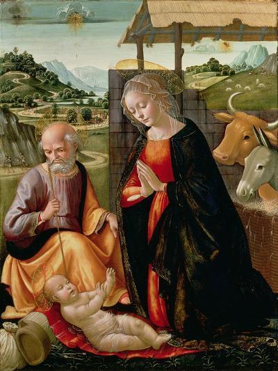The Nativity (Post Cleaning)-Domenico Ghirlandaio-Giclee Print