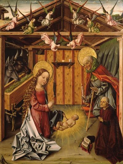 The Nativity (Triptyc), 1467-1500-García del Barco-Giclee Print