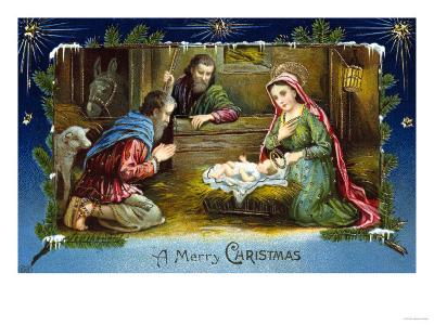 The Nativity--Giclee Print