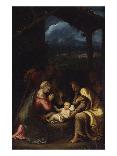 The Nativity-Giulio Romano-Giclee Print