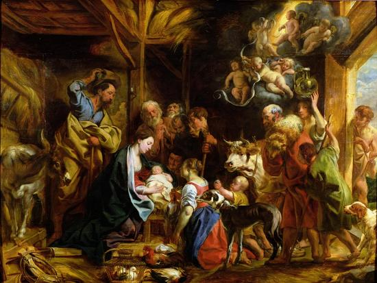 The Nativity-Jacob Jordaens-Giclee Print