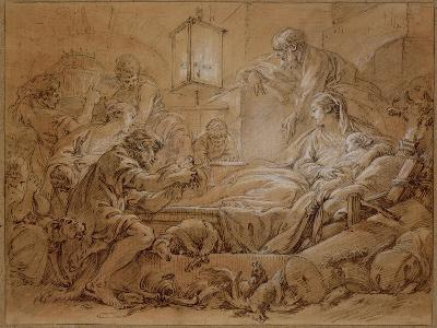The Nativity-Francois Boucher-Giclee Print