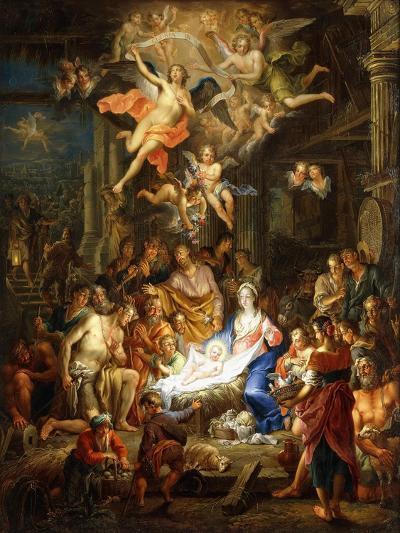 The Nativity-Frans Christoph Janneck-Giclee Print