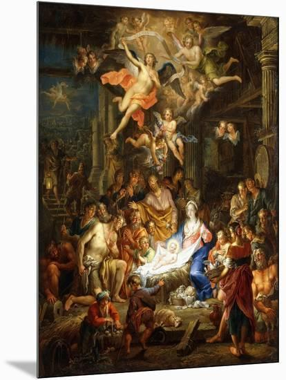 The Nativity-Frans Christoph Janneck-Mounted Giclee Print