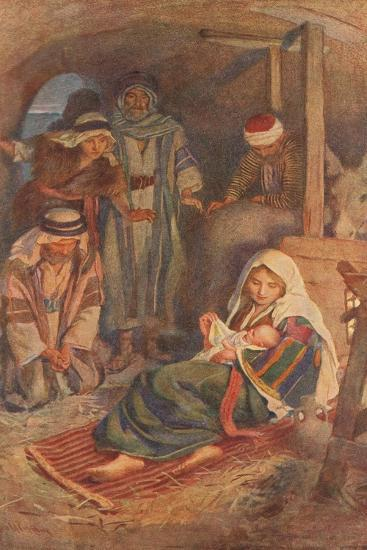 The Nativity-Harold Copping-Giclee Print