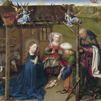 The Nativity-Jacques Daret-Giclee Print
